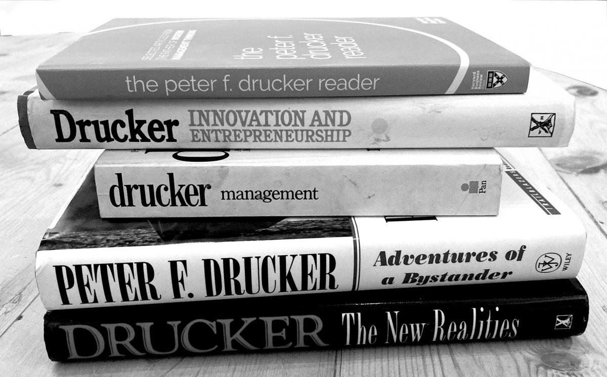 On re-reading PeterDrucker